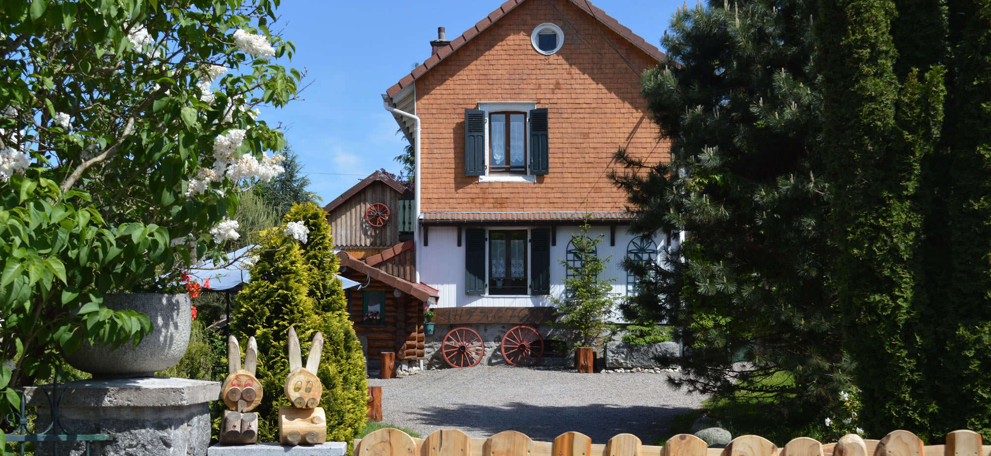 chalets rentals in the Vosges Thillot
