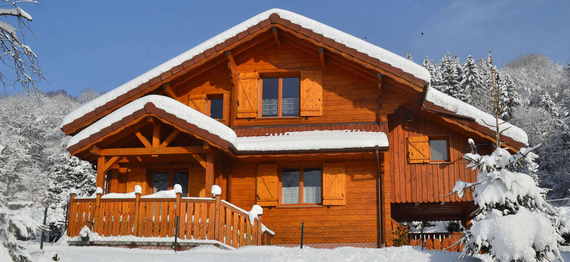 chalets rentals in the Vosges